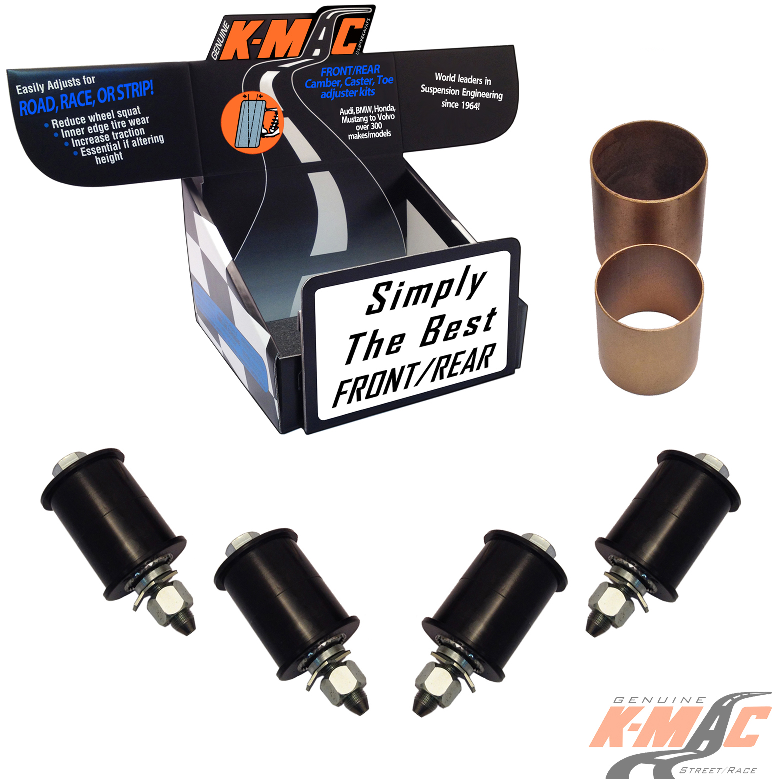 KMAC Mercedes Front Caster/Camber Kit 91-98 W140