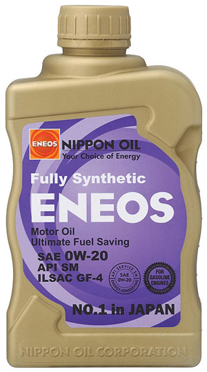 Eneos 0W-20 Fully Synthetic Motor Oil