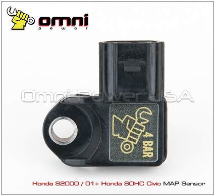 OMNI-Power 06+ Honda S2000 and 01-06 Civic SOHC Plug and Play 4 Bar MAP Sensor